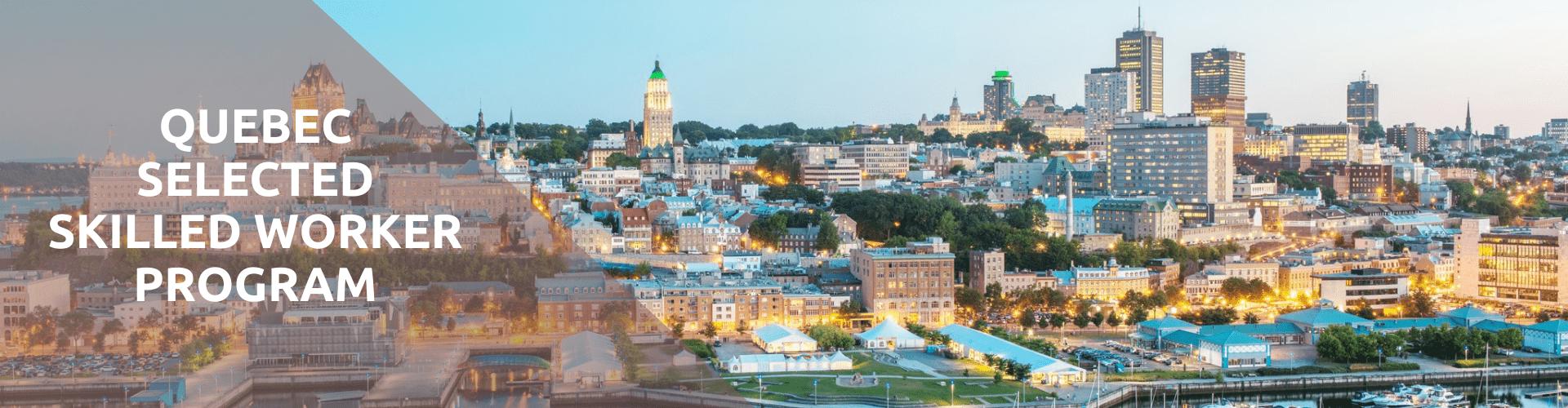 Quebec selected skilled worker program